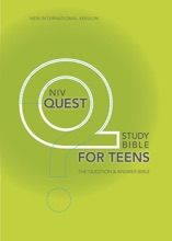 NIV, Quest Bible For Teens