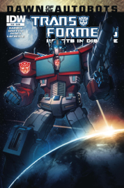 Transformers: Robots in Disguise #28 - Dawn of the Autobots book