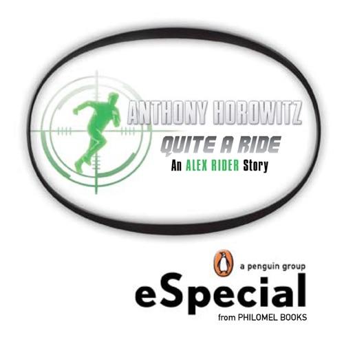 Anthony Horowitz - Quite a Ride