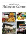 10 Articles On  Philippine Culture