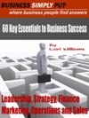60 Key Essentials Business Success