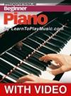 Beginner Piano Lessons - Progressive Video Enhanced