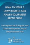 How To Start A Lawn Mower Repair Shop A Complete Small Engine  Garden Equipment Repair Shop Business Plan