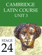 Cambridge Latin Course (4th Ed) Unit 3 Stage 24