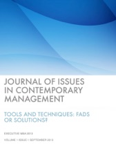 Journal Of Issues In Contemporary Management