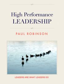 High Performance Leadership book