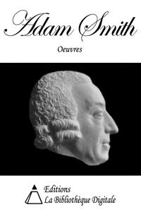 Oeuvres de Adam Smith La couverture du livre martien