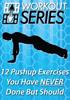 Arnel Ricafranca - 12 Pushup Exercises You Have Never Done But Should artwork