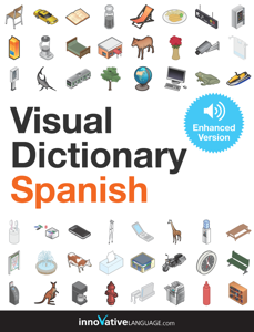 Visual Dictionary Spanish (Enhanced Version) La couverture du livre martien