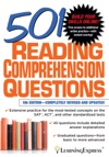 501 Reading Comprehension Questions