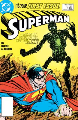 Superman (1987-2006) #1 - John Byrne & Terry Austin book
