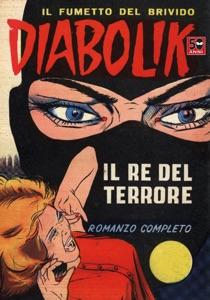 Diabolik #1 Book Cover