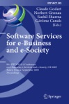 Software Services For E-Business And E-Society