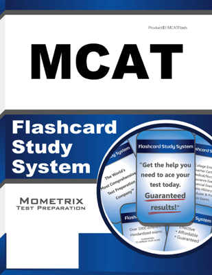 MCAT Flashcard Study System - MCAT Exam Secrets Test Prep Team book