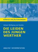 Die Leiden des jungen Werther von Johann Wolfgang von Goethe. Königs Erläuterungen.
