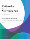 Kotlyarsky V New York Post