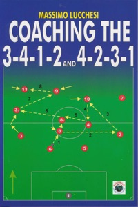 Coaching the 3-4-1-2 and 4-2-3-1 Book Cover