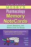 Mosbys Pharmacology Memory NoteCards