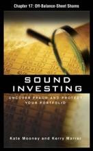 Sound Investing, Chapter 17 - Off-Balance-Sheet Shams