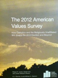 The 2012 American Values Survey book