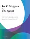 042996 Joe C Meighan V US Sprint