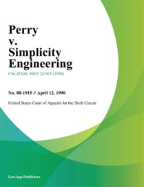 Perry V Simplicity Engineering