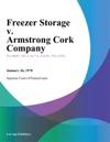 Freezer Storage V Armstrong Cork Company