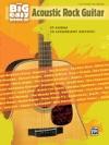 The Big Easy Book Of Acoustic Rock Guitar Easy Guitar TAB Sheet Music