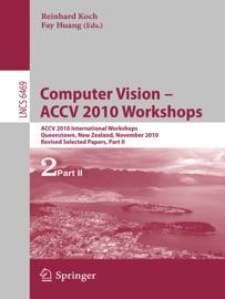 Computer Vision Accv 2010 Workshops