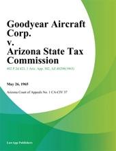 Goodyear Aircraft Corp. V. Arizona State Tax Commission