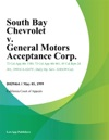 South Bay Chevrolet V General Motors Acceptance Corp