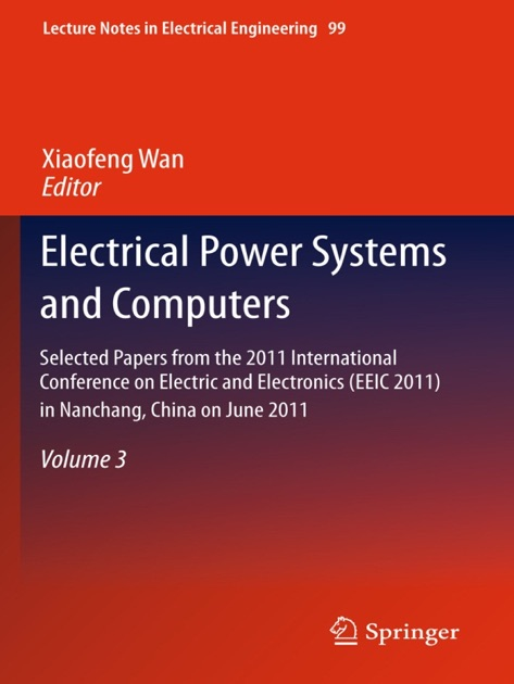 Electrical Power Systems and Computers by Xiaofeng Wan on Apple Books