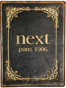 Next Restaurant - Paris: 1906 da Grant Achatz, Nick Kokonas, Dave Beran & Christian Seel