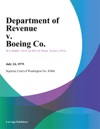Department Of Revenue V Boeing Co