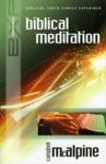 Explaining Biblical Meditation