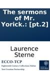 The Sermons Of Mr Yorick Pt2