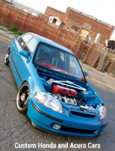 Custom Honda and Acura Cars