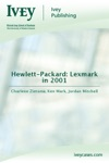Hewlett-Packard Lexmark In 2001