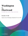 Washington V Fleetwood