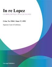 In Re Lopez