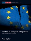 The End Of European Integration