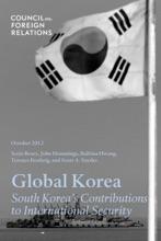 Global Korea: South Korea's Contributions To International Security