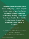 Foiled Parliament Session Works In Favor Of Majority Leaders--Majority Leaders Agree To Speed Up Cabinet Formation--Mikati Aoun Hold Ice-Breaking Meeting First In More Than Three Months--Berri Calls For New Parliament Session Next Wednesday Slams March 14 Coalition LEBANON-POLITICS