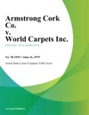 Armstrong Cork Co V World Carpets Inc