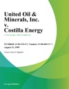 United Oil  Minerals