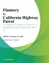 Flannery V California Highway Patrol