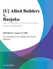 Download [U] Allied Builders v. Banjoku