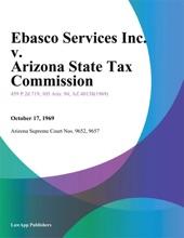 Ebasco Services Inc. V. Arizona State Tax Commission