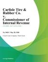 Carlisle Tire  Rubber Co V Commissioner Of Internal Revenue