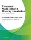 Tennessee Manufactured Housing Association